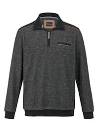 Sweatshirt van zacht & warm materiaal