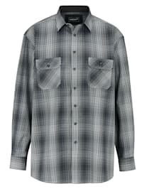 Overhemd met borstzakken