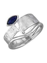 Bague avec lapis-lazulis