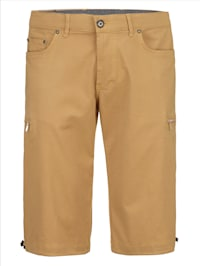 Shorts med säkerhetsficka och fläckskydd