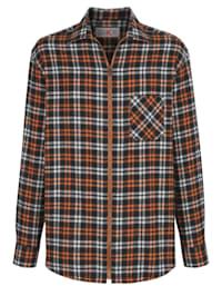 Overhemd met rits