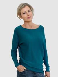 Pullover mit Ziernaht am Rücken