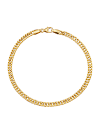 Armband i pansarlänk av guld 18 k