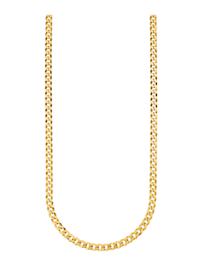 Panzerkette in Silber 925, vergoldet