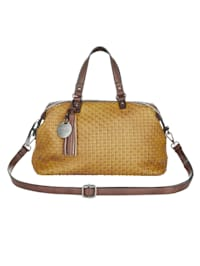 Handtasche mit schöner Flechtung