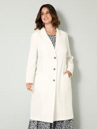 Kabát v klasickém střihu
