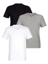 T-shirts à fines rayures