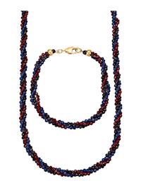 Parure de bijoux 2 pièces avec spinelles