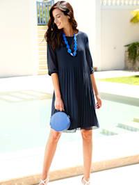 Plisseekleid elegant fließendes Kleid