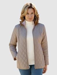 Obojstranná bunda s módnou potlačou jednej strany