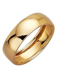 Bague partenaire en or jaune 585