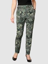 Pantalon à imprimé exclusif