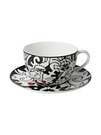 Goebel Tee-/ Cappuccinotasse Billy the Artist - Two in One