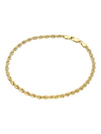 Armband Kordelkette, Gold 585