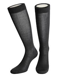 Chaussettes de contention en coton