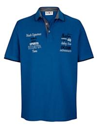 Tričko s výšivkou na přední části