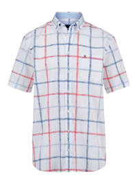 Košile s námořnickým károvaným vzorem