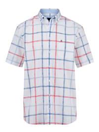 Skjorta med rutigt mönster
