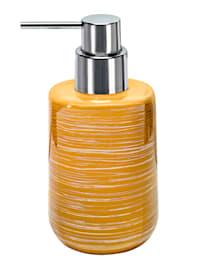 """Täytettävä käsinmaalattu pumppupullo """"Argentic"""""""