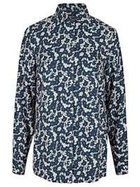 Modische Bluse mit All-over-Print