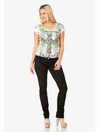 Slim Fit-Jeans in modischem Schnitt