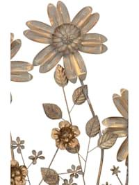 Wanddekoration Blumenwiese