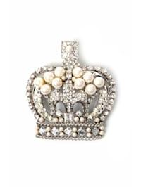 Brosche Princess kristall farbige Glassteine