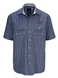 Chemise 2 poches poitrines fermables