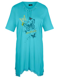 Shirt met vlinderdessin