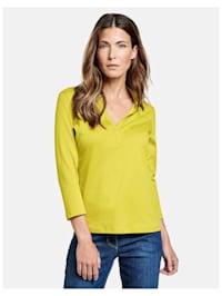 3/4 Arm Polo-Shirt