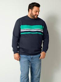 Sweatshirt van zuiver katoen