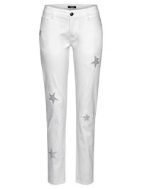Jeans mit Sternen-Details