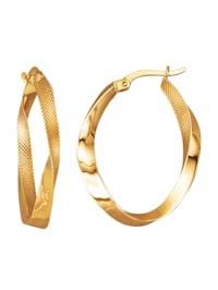 Örhängen i guld 9 k