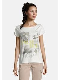Basic Shirt mit Muster