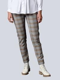 Pantalon à carreaux mode