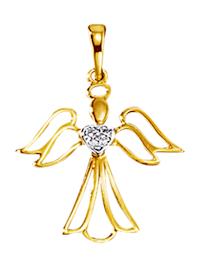 Hanger Engel met diamanten
