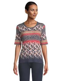 Basic Shirt mit Print