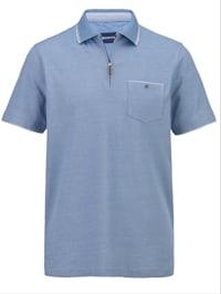 Tričko ve dvoubarevné piké kvalitě
