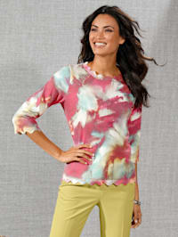 Pullover im Farbverlauf allover