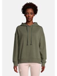 Casual-Sweatshirt mit Kapuze