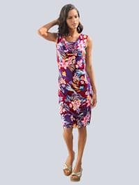 Strandkleid mit floralem Druck