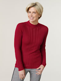 Pullover aus Rippenstuktur