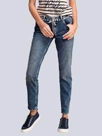 Jeans im Boyfriend-Style