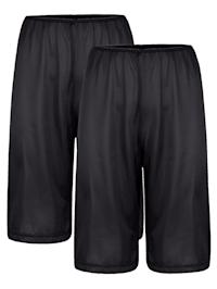 Hosenunterröcke im 2er-Pack mit antistatischer Ausrüstung