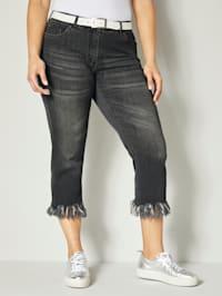 Jeans med franskanter