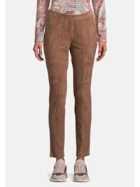 Slim Fit-Hose mit Reißverschluss