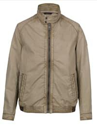 Jacke aus leichter Baumwoll-Qualität