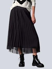 Sukňa s bodovaným dizajnom