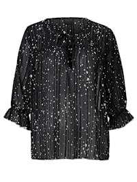 Bluse mit Sternen