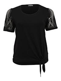 Shirt Unifarbend Applikationen